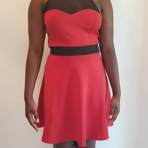 Mystic Dresses Redburnt Orange Semi Formal Dress Poshmark