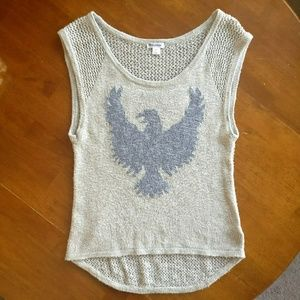 Xhilaration Eagle Hi-Lo Tank Top