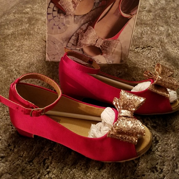 Joyfolie Red Shoes
