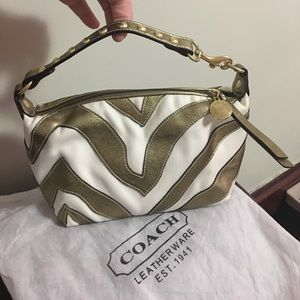Authentic Coach mini / clutch purse