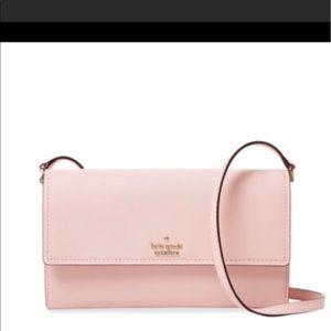 Kate Spade convertible wallet to hang bag