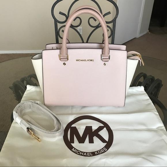 bf8d96d46b091 Michael Kors Bags | Mk Medium Colorblock Selma | Poshmark