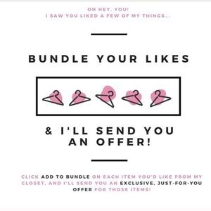 Other - Bundle when your ready to save- I'll send an Offer