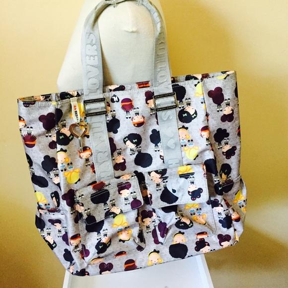 Harajuku Lovers Bags Messenger Gray Girls Tote Bag