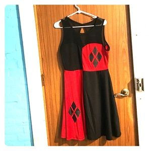 Harley Quinn cosplay costume, used for sale