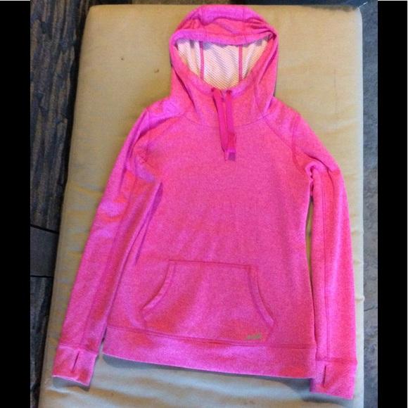 d502346db0b Avia Tops | Sweatshirt Pink Hoodie Small Workout Top | Poshmark
