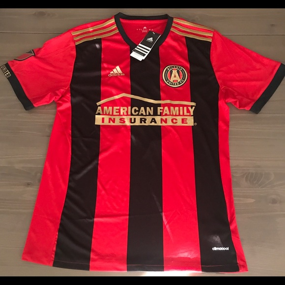 new arrival c493d 4d000 Atlanta United FC Almiron #10 soccer jersey adidas NWT