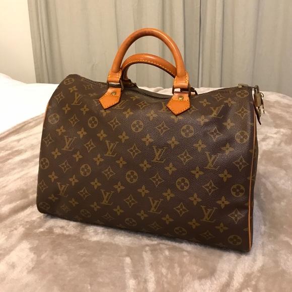 Louis Vuitton Handbags - 💯AUTHENTIC 1983 vintage Louis Voiutton speedy 35 0bf723c76e69a