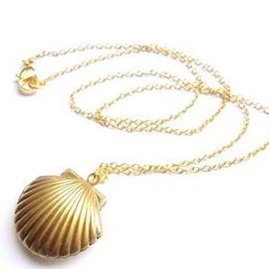 Jewelry - Seashell Locket Necklace