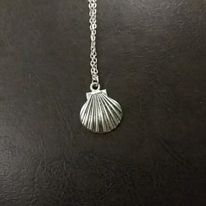 Jewelry - Seashell Silver Necklace