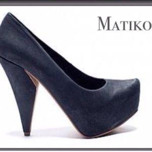 Matiko heels from LF. Black leather