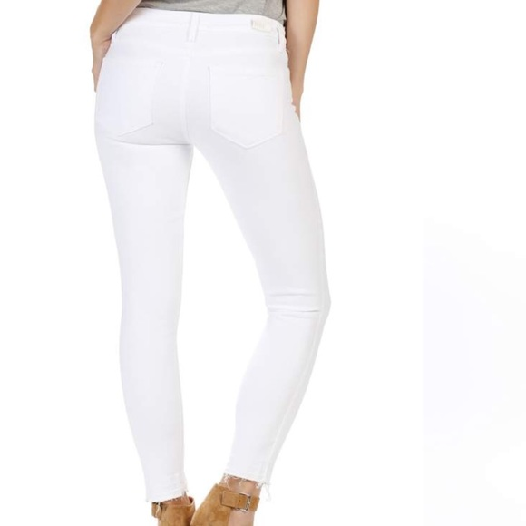 PAIGE Denim - PAIGE Verdugo Crop Ultra Skinny Jeans