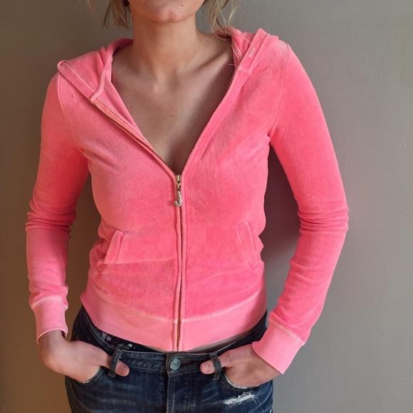 Juicy Couture Tops - Juicy Couture Pink Hoodie