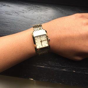 Burberry gold watch (women's)