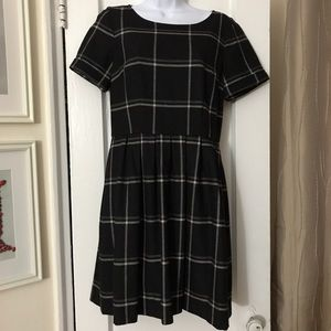 8a4824b5ac8 Madewell Dresses - madewell • twirl dress in windowpane plaid • 4
