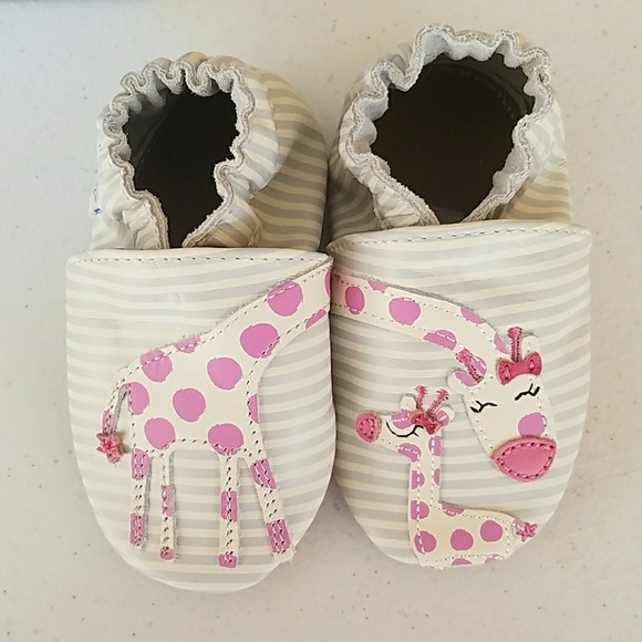 81% off Robeez Other - New Arrival Baby Shoes 6-12 Months ...