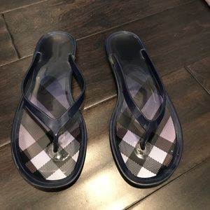 75ee1deabc5f8e Women s Burberry Jelly Sandals on Poshmark