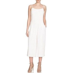 NWT 1. State sleeveless white jumpsuit