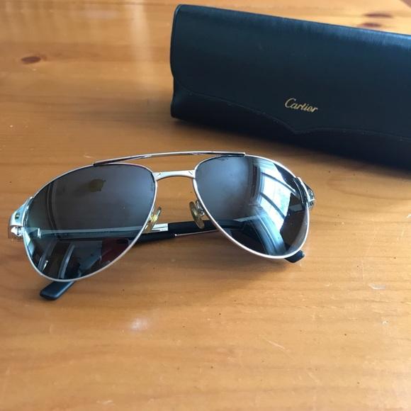 38f74e22a51 Cartier Accessories - Cartier Santos De Cartier sunglasses