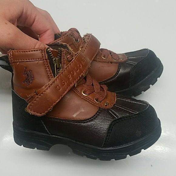 ba051189af5 Toddler size 6 boots. U.S. Polo Assn.
