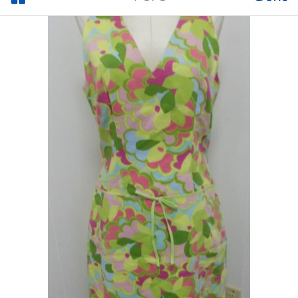 6e645bc45f Sigrid Olsen Bright 60s Era Look Dress NWT