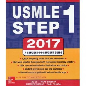 🛑SOLD USMLE step 1 first aid 2017