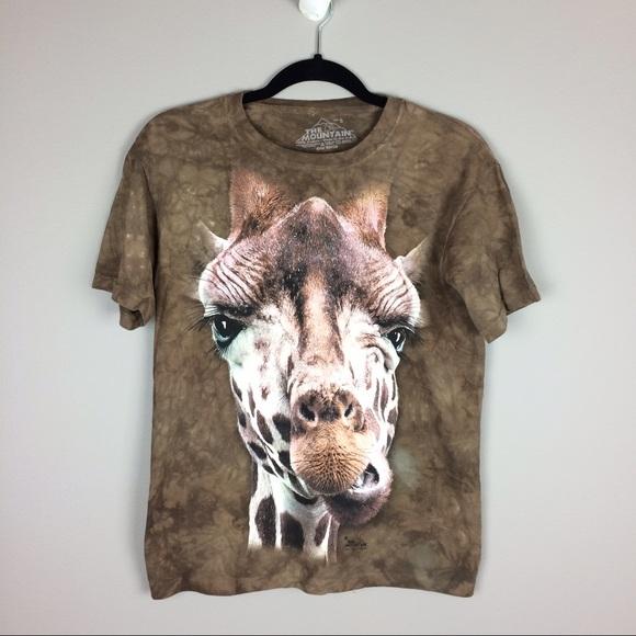 The Mountain Tops - X The Mountain Giraffe tee shirt