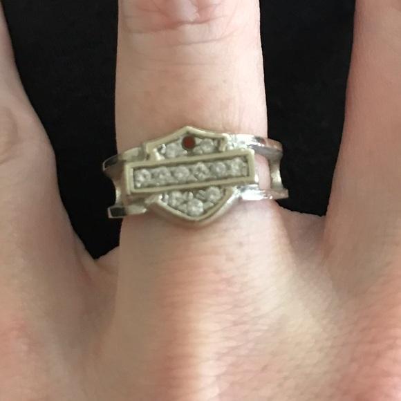 Harley Davidson Wedding Rings.Harley Davidson Diamond Ring