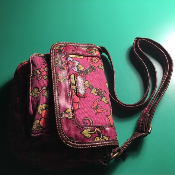 Sakroots Bags Sak Roots Pink Peace Crossbody Handbag