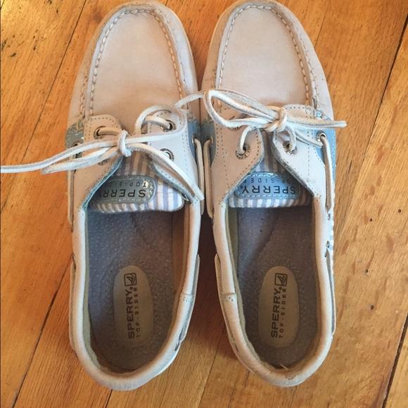 Sperry Shoes   Light Blue Sperrys