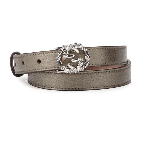 7e4fd5c79 Gucci Accessories | Swarovski Crystal Cellarius Leather Belt | Poshmark