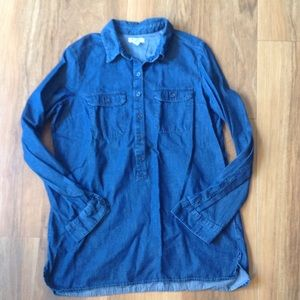 Old Navy Chambray Popover