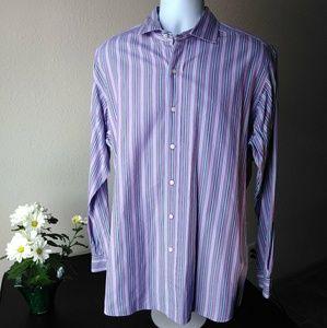Ralph Lauren men's Classic Fit Purple Blue Shirt