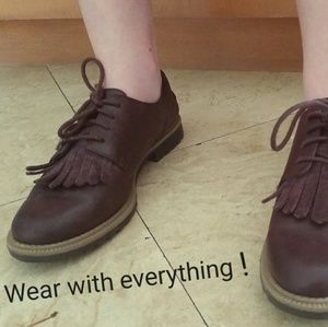 9ea055f54f5 Clarks Shoes - ❤HP❤ Clarks Griffin Mabel Oxford (Leather)