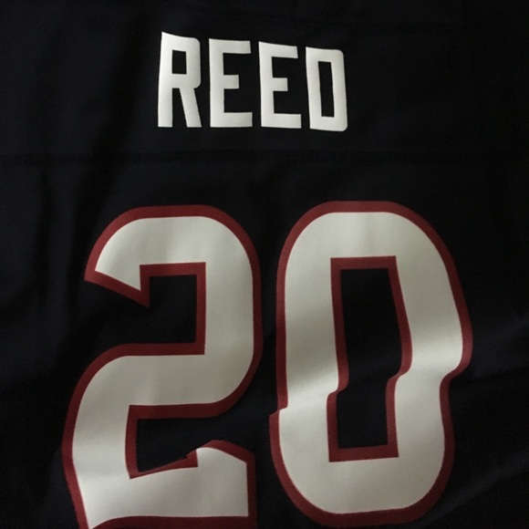sale retailer 2e2d9 41737 Texans Ed Reed #20 jersey NWT