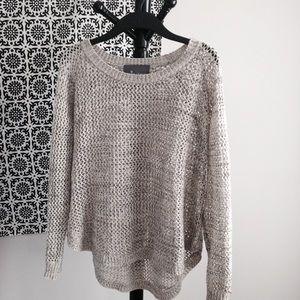 PaperCrane Fishnet Sweater