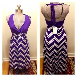 NWT High Low Dress, 5th & Love, size Small
