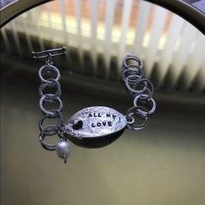 Jewelry - Silver bracelet stamped 925