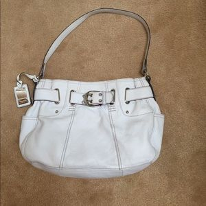 White Tignanello Hobo purse EUC