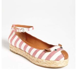 Red Marc Jacobs Mouse Ankle Strap Espadrille!