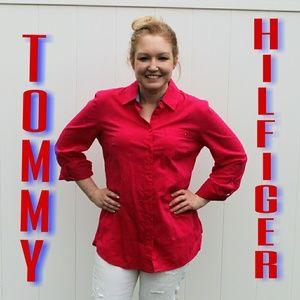 PINK 💓Classic fit coupe classique Tommy Hilfiger