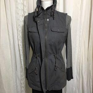 a3a2ca2d293ea Sebby Jackets   Coats - Sebby Gray vest size small