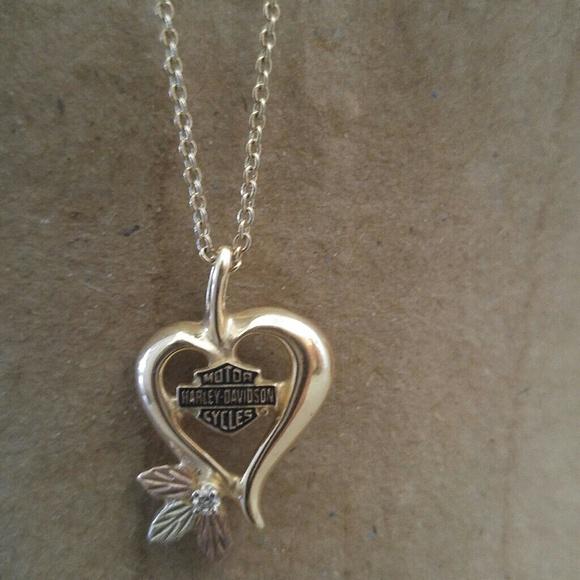 HarleyDavidson Jewelry Harley Davidson Black Hills Gold Necklace