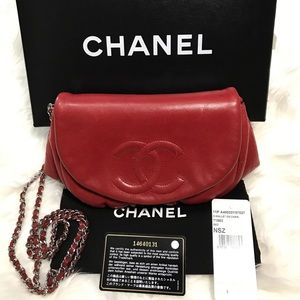 🔥HP🔥 Chanel WOC Half Moon purse 100% authentic
