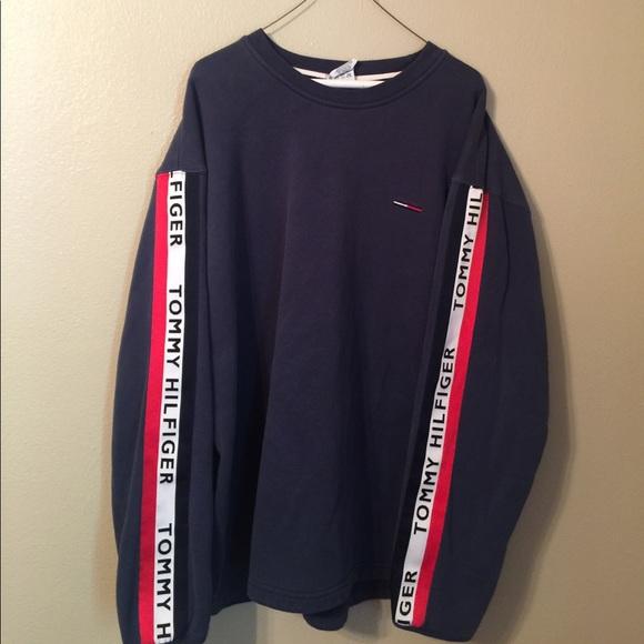 vintage sweatshirt Tommy Hilfiger 1990s Tommy Hilfiger