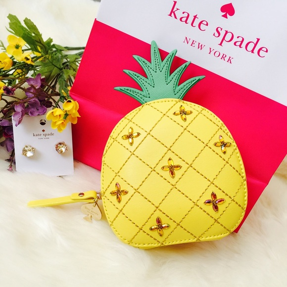 41aaf6ed5705 kate spade Bags | How Refreshing Pineapple Coin Purse | Poshmark