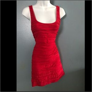 Topshop red dress size 6