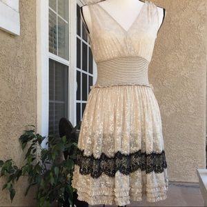 FREE PEOPLE Lace Dress Sleeveless Stunning Sexy S