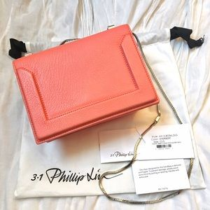 3.1 Philip Lim Soleil Mini Leather Shoulder Bag
