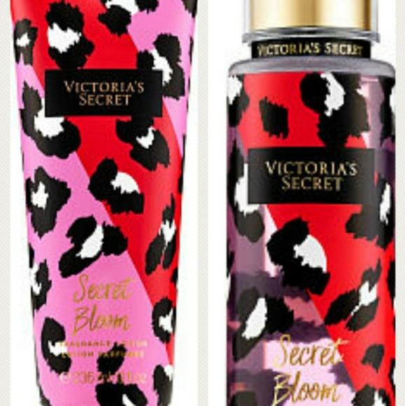 cf4df1cf2e481 VS Electric Leopard cream and fragrance spray set NWT